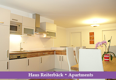 Haus Reiterbäck – Apartments